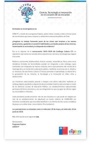 Catalogo Explora Chile 2019
