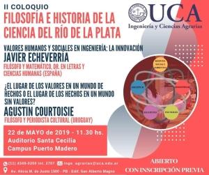 UCA Coloquio Ciencia 2019